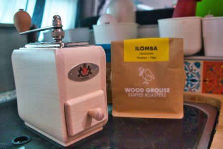 Kaffeemühle on board